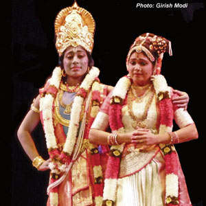 Dance production depicts life of the female saint of Vaishnavism