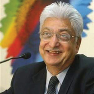 AZIM PREMJI: NO. 3 IS NOW NO. 1