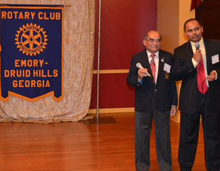 Rotary club with Indian membership gains traction at Christmas party