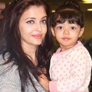 Aaradhya, star attraction at Azad Rao Khan's birthday party