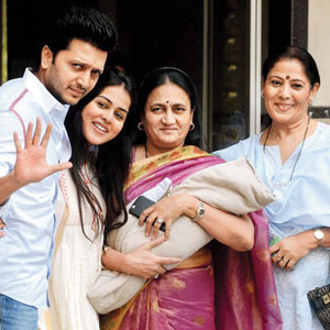 Riteish, Genelia are proud parents of a baby boy