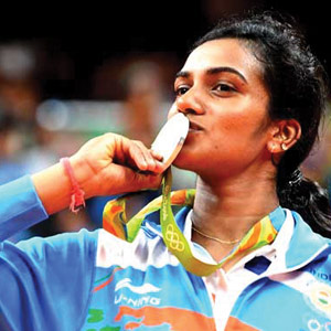 Good Sports: SUPER SERIES TITLE FOR SINDHU