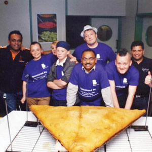FUN TIME: WORLD'S LARGEST SAMOSA: WHY DIDN'T I GET SOME?