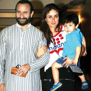 Saif, Kareena host prebirthday bash for Taimur