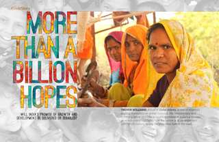More Than a Billion Hopes: Will India's promise of growth and development be delivered or derailed?