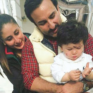 Taimur Ali Khan's first birthday a family affair