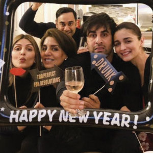 Alia rings in the New Year with Ranbir in New York