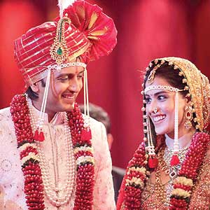 Ritesh-Genelia married!