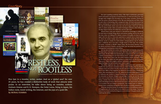 Restless, Not Rootless: Pico Iyer Talks to Khabar