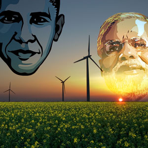 Obama's Republic Day visit to India: U.S.-India Partnership for Clean Energy
