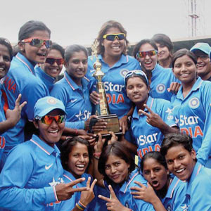 Good Sports: HISTORIC WIN FOR WOMEN'S CRICKET