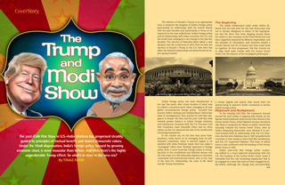 The Trump and Modi Show