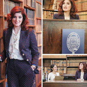 Twinkle Khanna at Oxford Union!