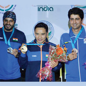 Good Sports: FIVE SHOOTING MEDALS