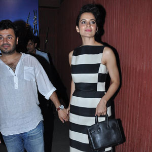 Kangana Ranaut's starry birthday bash
