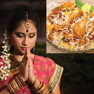 BIRYANI AND THE BRIDE