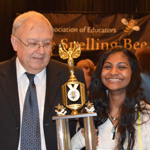 Eighth grader is Georgia spelling bee champ