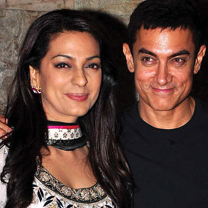 Aamir, Juhi bond at QSQT reunion party