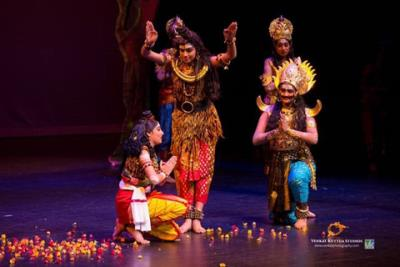 Kuchipudi Ballet Raises Record Funds for Sankara Nethralaya OM Trust
