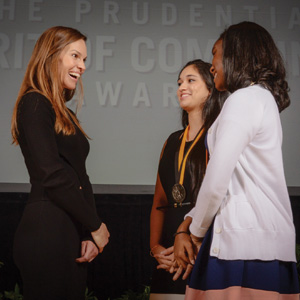 Top volunteers receive Prudential Spirit awards