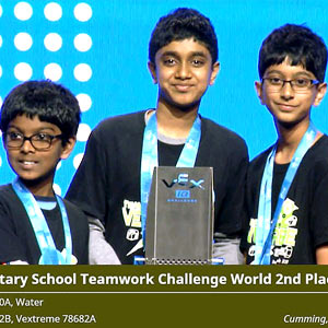 Khabar: Team Vextreme a winner in World's Robotics Competition