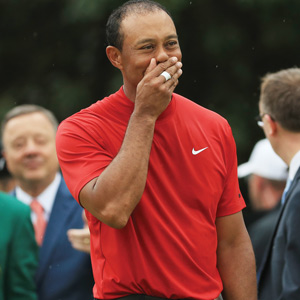 Fun TIme: TEARS FOR TIGER, AS HE TEARS IT UP AGAIN