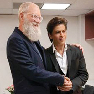 David Letterman celebrates Eid with Shah Rukh Khan