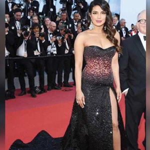 Priyanka makes a stunning debut at Cannes