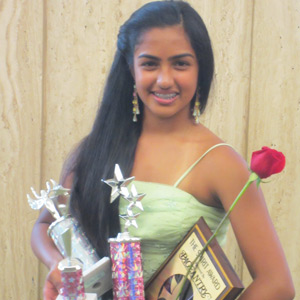 Hansinee Mayani wins multiple awards at National American Miss Pageant