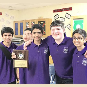 Middle schoolers shine in national academic tournaments