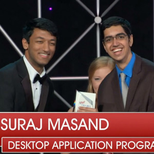 Top honors for Suraj Masand at leadership conference