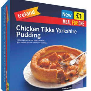 The English-Indian Frozen Dinner