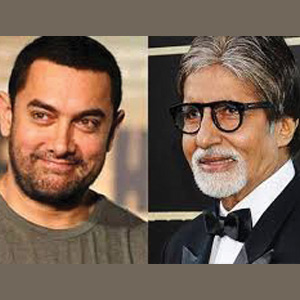 Aamir, Big B together for the first time