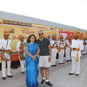 Travel: In Royal Style on the Palace on Wheels