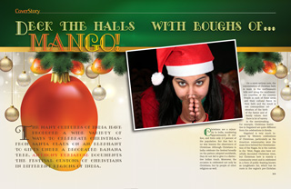 Deck the Halls with Boughs of ... Mango!