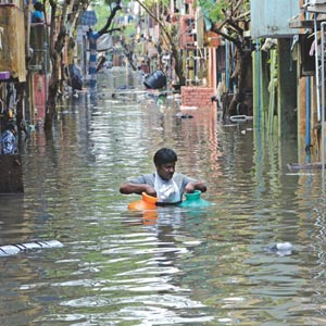 Fun Time: CHENNAI RESIDENTS BOUNCE BACK FROM FLOODS