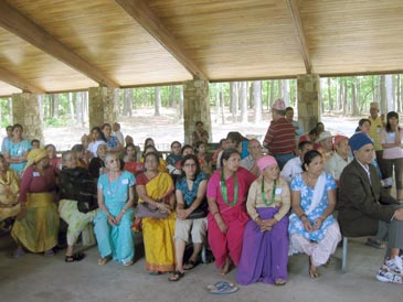 Chinmaya Mission Atlanta hosts Bhutanese families