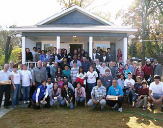 Atlanta Hindu community participates in Habitat For Humanity's Interfaith Project