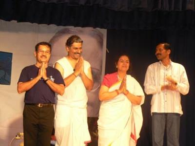 Kriyative Theatre artists from India perform in Atlanta