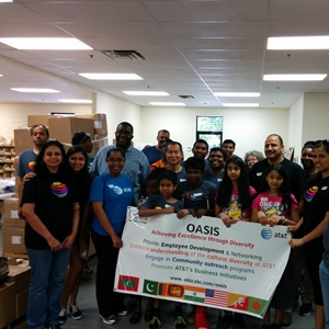 AT&T's Indian employees organize to offer volunteer services