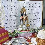 BAGA kids and adults celebrate Saraswati Puja
