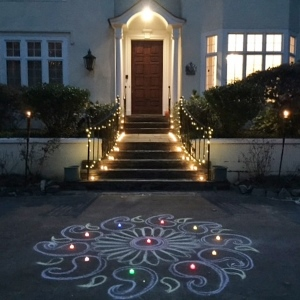 Diwali tradition continues at the residence of British Consul General