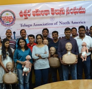 TAMA and TANA CARES organize CPR Training workshop
