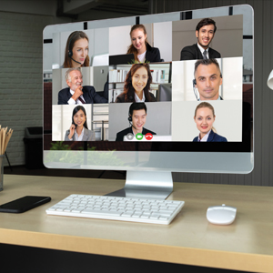 Fun Time: DON'T GET TOO COMFORTABLE WITH ONLINE MEETINGS
