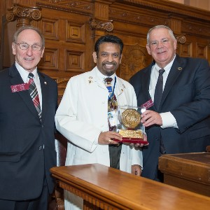 Dr. Indrakrishnan brings colorectal screening message to Georgia legislature