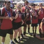 Bronze medal for Georgia soccer team in Special Olympics USA Games
