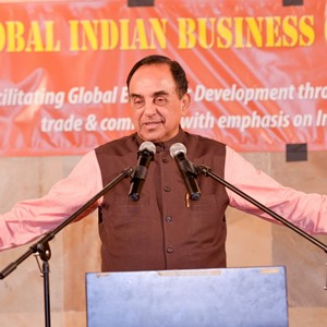 Dr. Subramanian Swamy portrays positive outlook for Indian economy