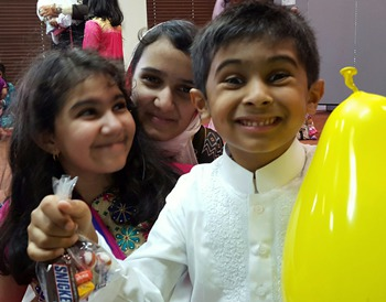 Celebration, Prayer, Knowledge: Eid-ul-Fitr Festivities at Local Mosque
