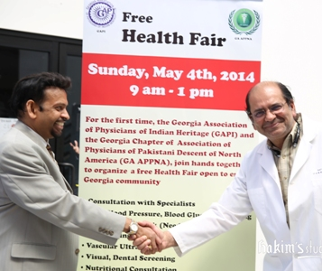 Indian and Pakistani physicians team up for a historic health fair