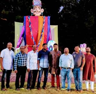 Greater Atlanta Vedic Temple celebrated Dussehra Mela
